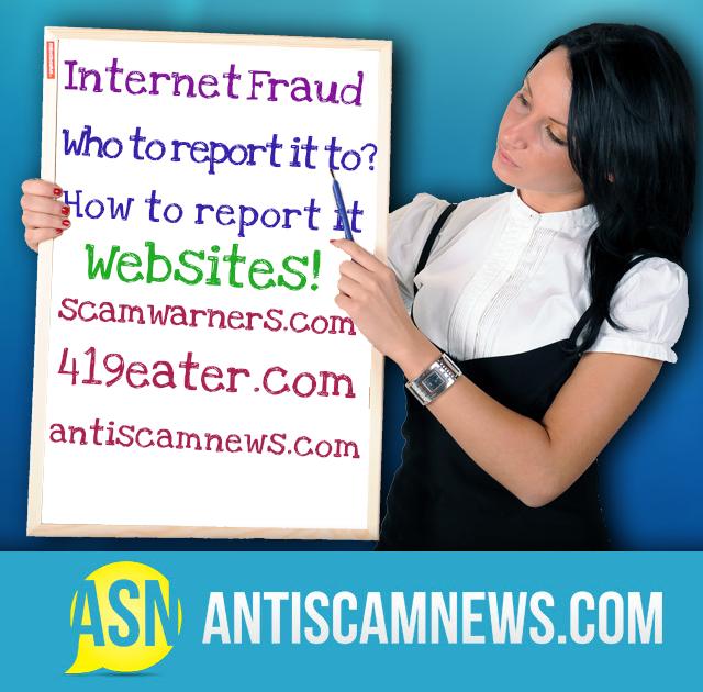 Reporting Internet Fraud