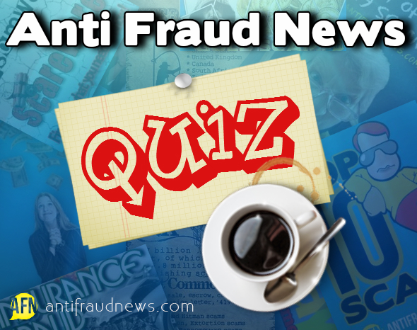 anti fraud quiz