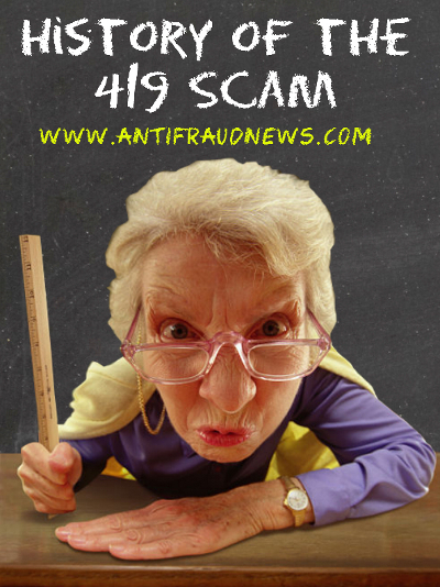 Histroy of the 419 Scam