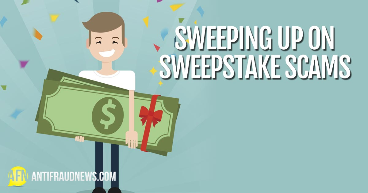 Sweepstake Scams