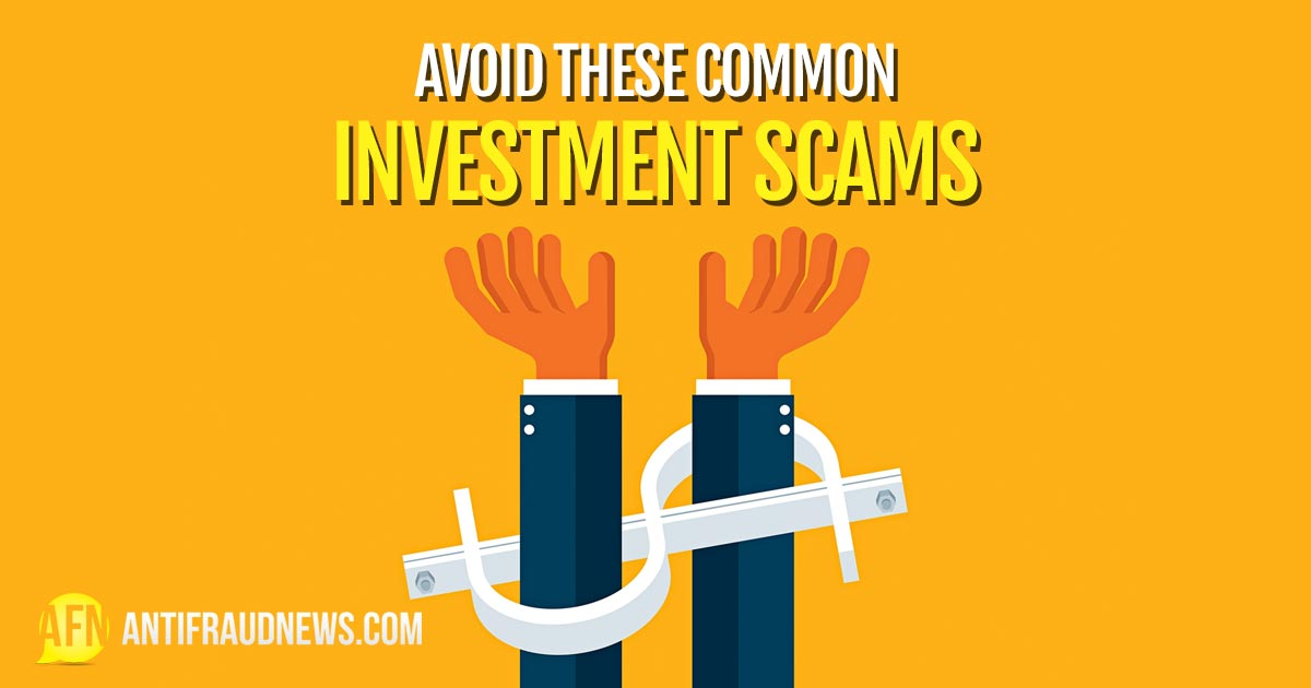 Common Investment Scams