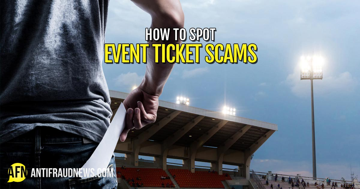 Event Ticket Scams