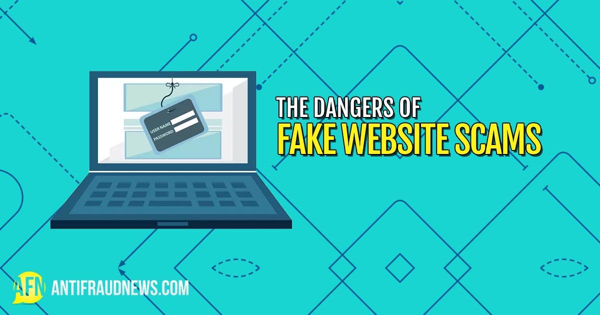 Fake Website Scams