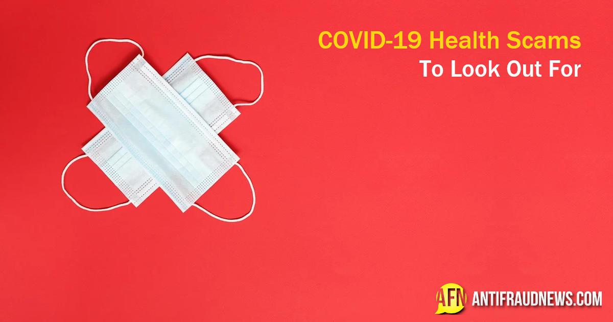 covid-19 health scams